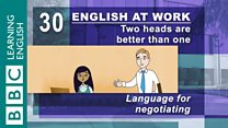 English At Work:Episode 30:Neg...