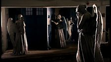 Weeping Angels and the TARDIS