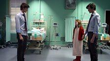 The Doctor and Prisoner Zero