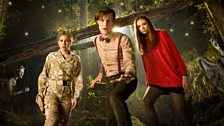 River Song, the Doctor and Amy Pond