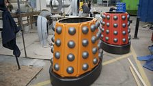 The Orange and Red Daleks