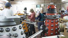 Working on the New Daleks