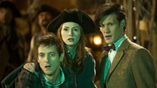 Rory, Amy, and The Doctor