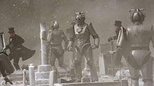Cybermen Taking Over the Graveyard