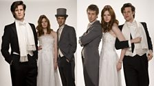 The Doctor with Amy and Rory