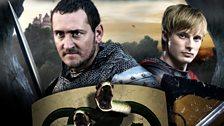 Knight Valiant and Prince Arthur
