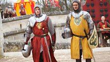Prince Arthur and Knight Valiant