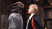 The Third Doctor Comes Face to Face with a Sea Devil