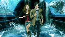 Amy and the Doctor on the Run