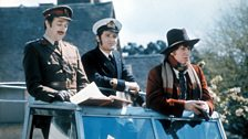 Brigadier Lethbridge-Stewart, Harry Sullivan and the Doctor