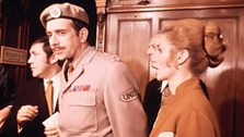 The Brigadier and Liz at Madame Tussauds
