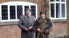 Brigadier Lethbridge-Stewart Reunited with the Second Doctor