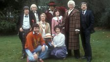 The Cast of The Five Doctors