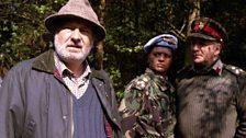 Peter Warmsly, Brigadier Winifred Bambera and Brigadier Lethbridge-Stewart