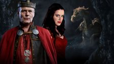 King Uther, Nimueh and Great Dragon