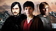 Cornelius, Merlin and Prince Arthur