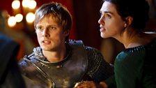 Prince Arthur and Morgana