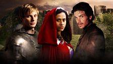 Arthur, Gwen and Lancelot