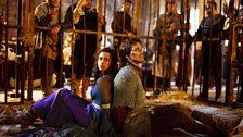 Gwen and Lancelot