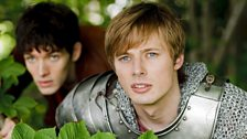 Prince Arthur and Merlin