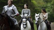 Prince Arthur and Morgana