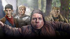 Merlin, Arthur, Grettir and Fisher King