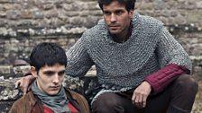 Merlin and Lancelot