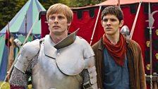 King Arthur and Merlin
