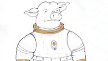 Concept Art of the Space Pig