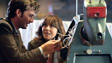 The Doctor, Sarah Jane and K9