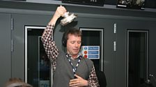 Nicky gets his hands on the FA Cup