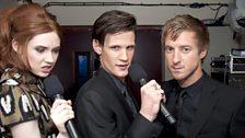 Karen, Matt and Arthur