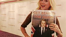 Fearne Cotton is behind The Hump