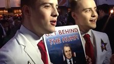 Jedward get behind The Hump