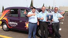 Baku taxi drivers
