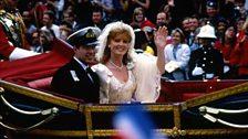 Royal Wedding : Prince Andrew and Sarah Ferguson, 23 July 1986