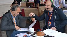 Graham  gets set for Radio 2's Diamond Jubilee celebrations