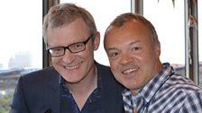 Jeremy Vine and Graham Norton