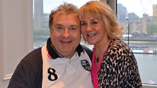 Russell Grant and Nina Myskow