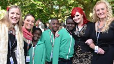 Military Wives and African Children's Choir