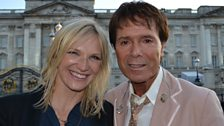 Jo Whiley and Sir Cliff Richard
