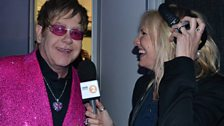 Sir Elton John and Jo Whiley