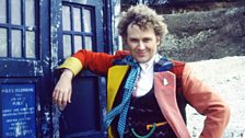 Colin Baker, the Sixth Doctor...