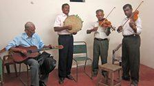 Burgher musicians in Batticaloa