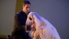 Kristine Opolais as Cio-Cio-San and James Valenti as Pinkerton (C) The Royal Opera / Mike Hoban 2011