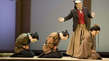 Robin Leggate as Goro (c) The Royal Opera / Mike Hoban 2011