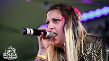 Lola King and The Kickstarts at Hackney Weekend 2012