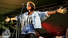 Lil Simz at Hackney Weekend 2012