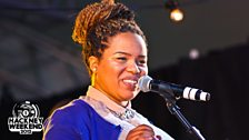 Kersha Bailey at Radio 1's Hackney Weekend 2012