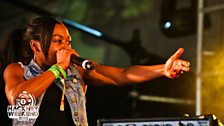 Paigey Cakey at Radio 1's Hackney Weekend 2012